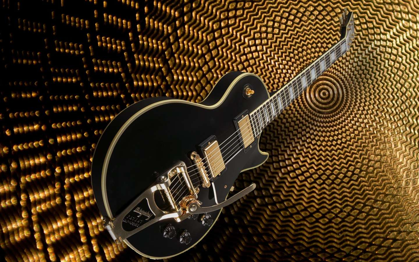Nice And Cute Wallpaper Les Paul With Bigsby Wallpaper Hd Wallpapers