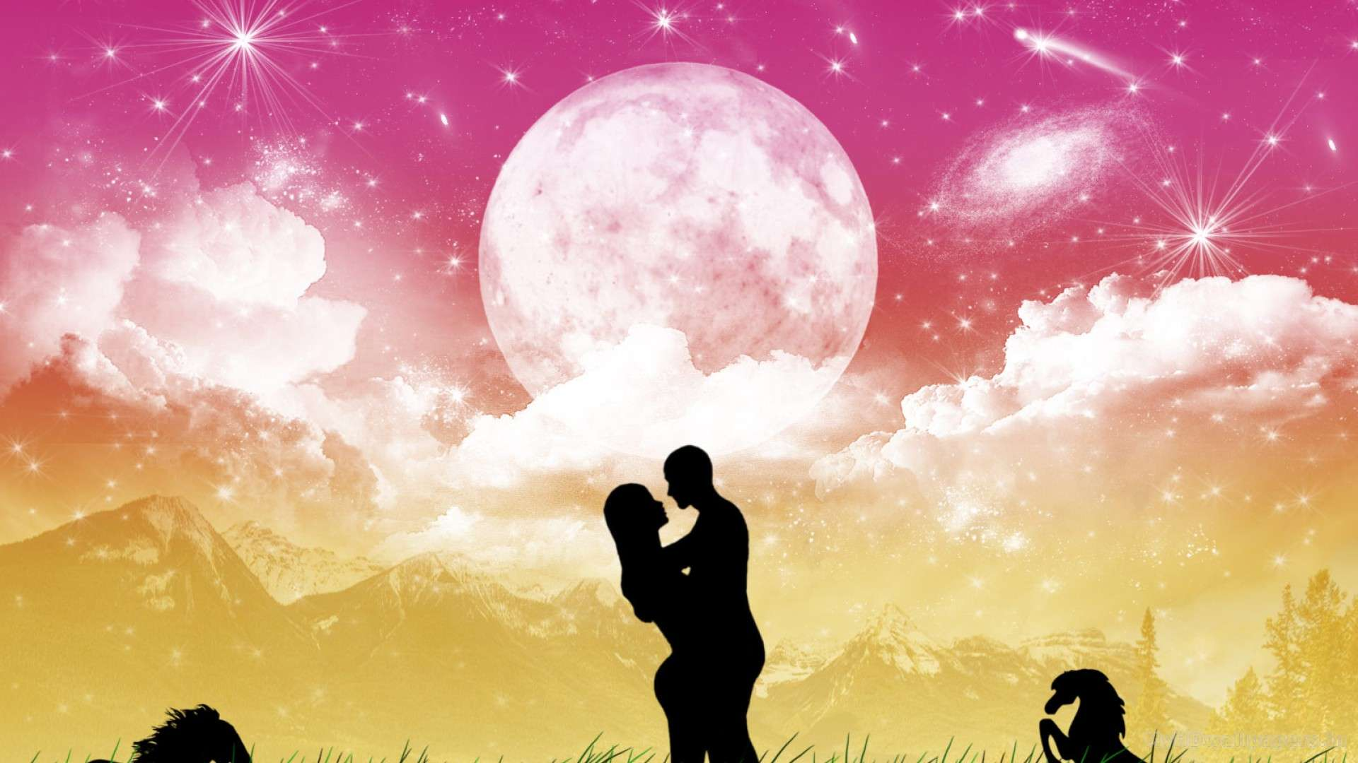 Cute Couple Emo Wallpapers Love To The Stars Hd Wallpapers