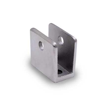 Partition Hardware U Bracket 1 2quot Stainless Supply Hero