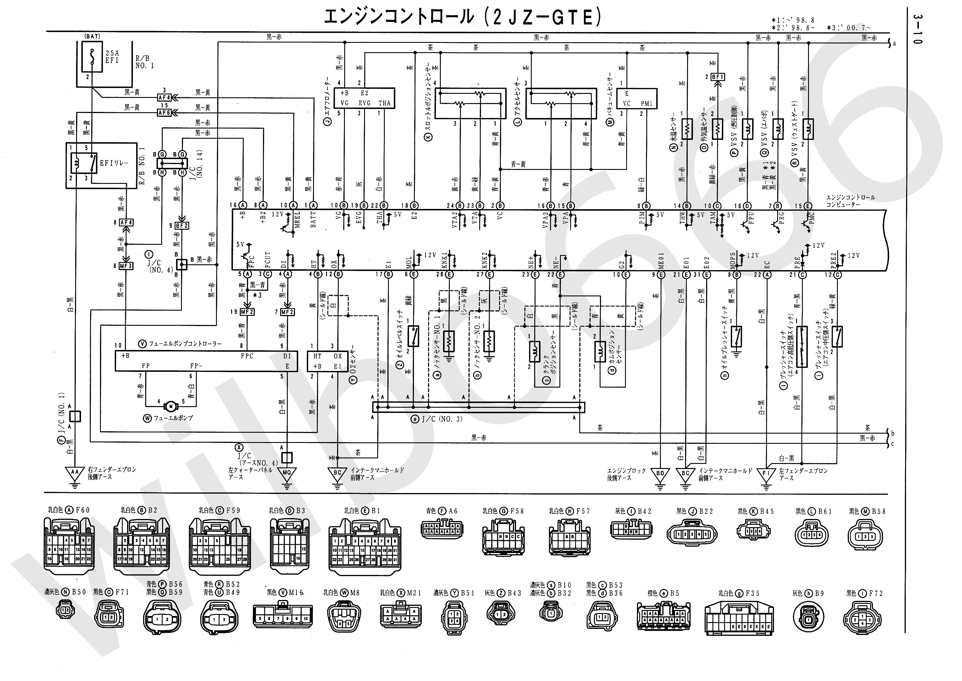 1996 toyota aristo wiring diagram