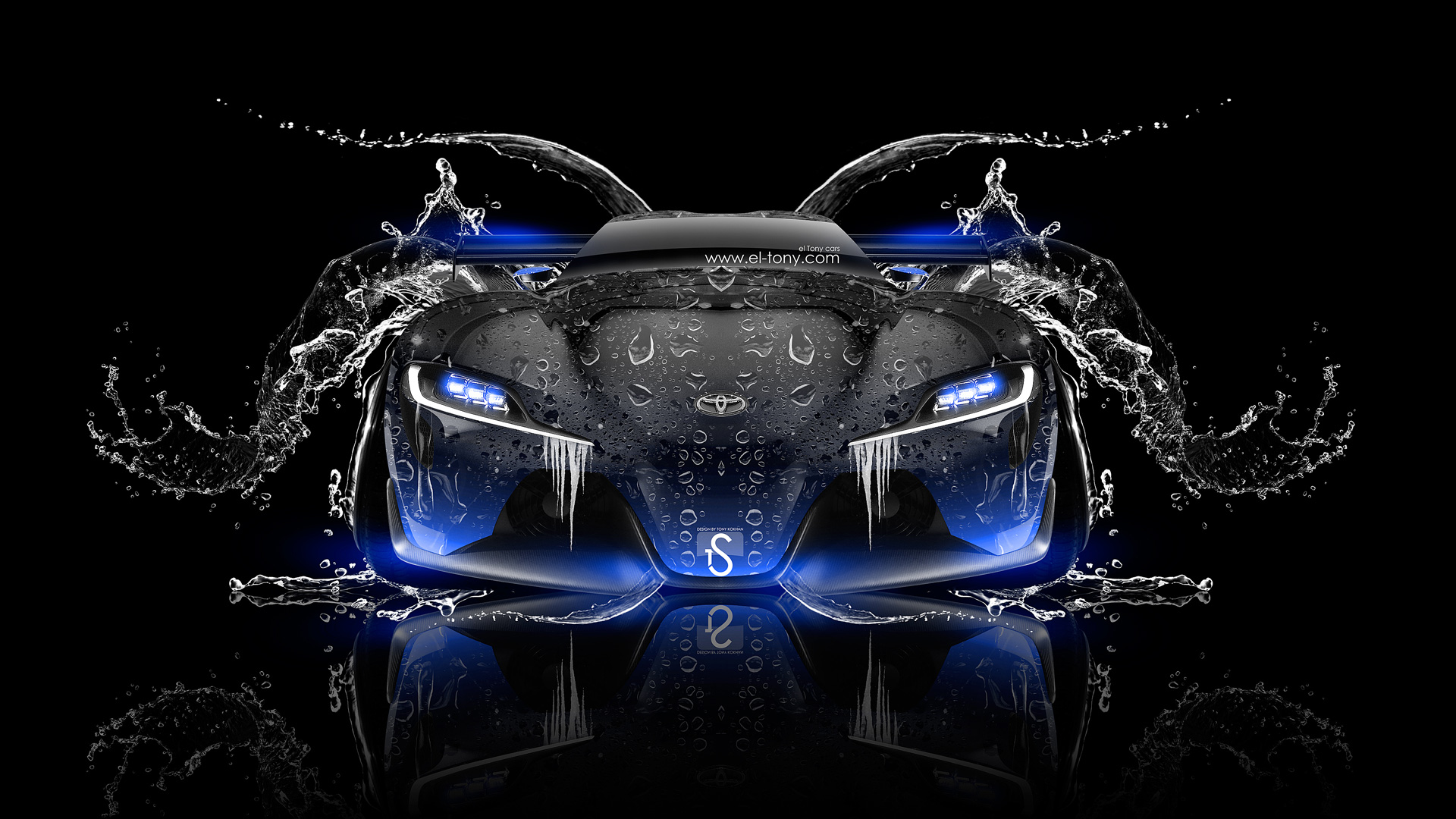 Desktop Corvett Car Wallpaper Toyota Ft 1 Cool Hi Res Wallpapers Supramkv 2020
