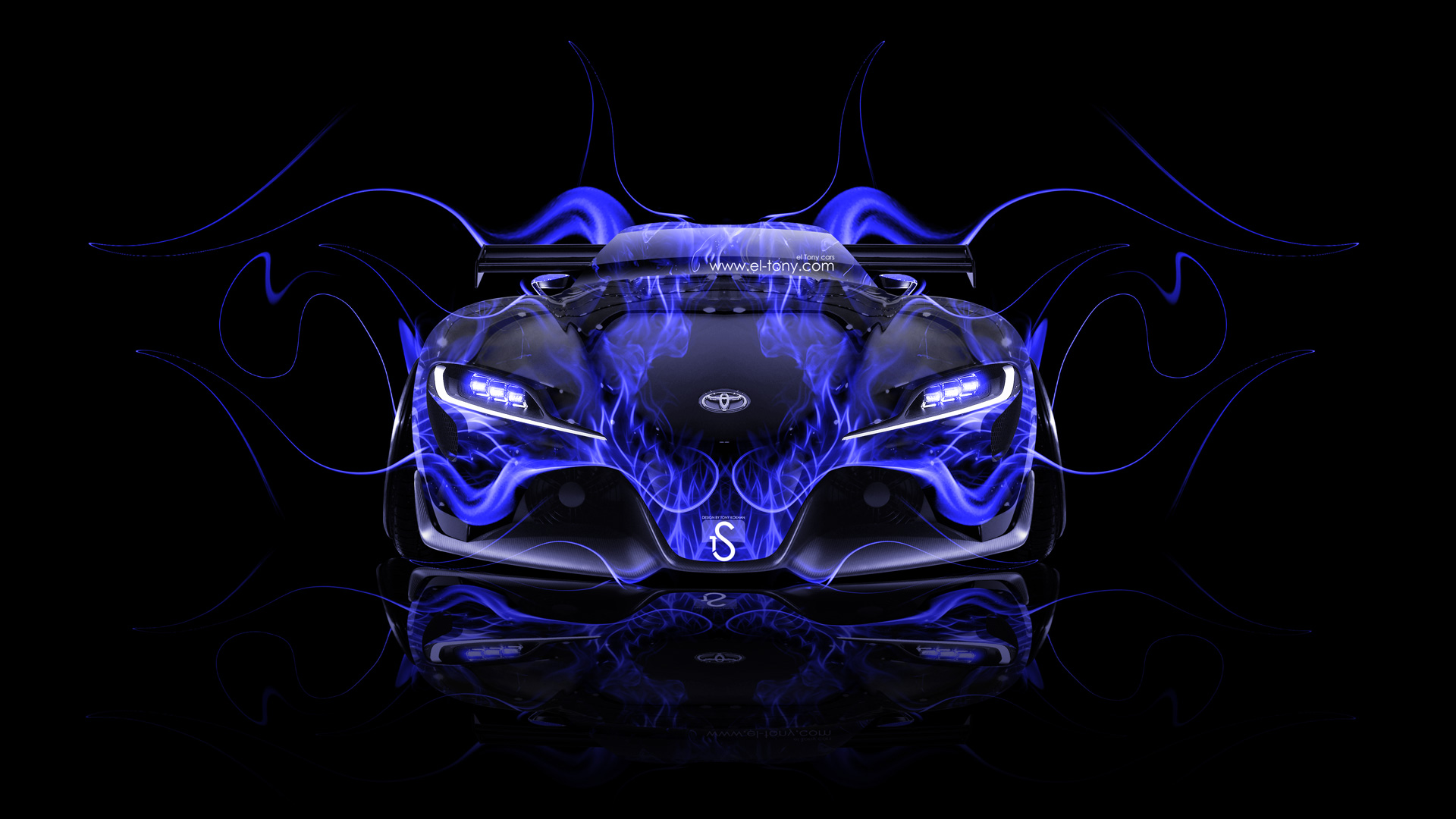 Cars Wallpaper In Front Of Skyline Toyota Ft 1 Cool Hi Res Wallpapers Supramkv 2018 2019