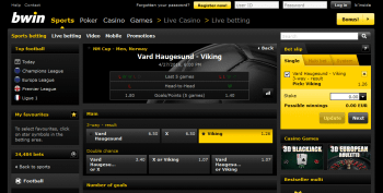 Viking @ BWin Bookmaker