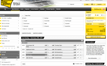 Cologne Haie @ Interwetten Bookmaker