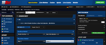 New York Islanders @ 10Bet Bookmaker