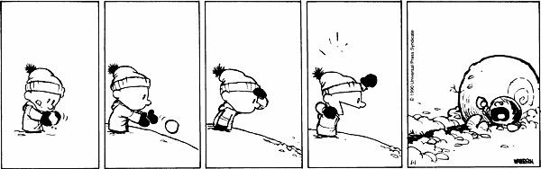 Calvin & Hobbes Snowball