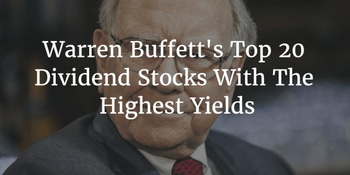 Warren Buffett Top 20