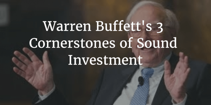 Buffett Cornerstones