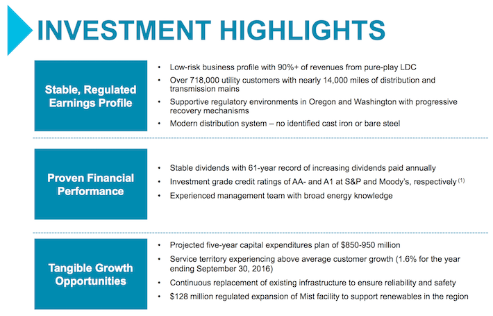 NWN Investment Highlights