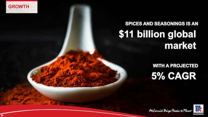 MKC Spices and Seasonings is an $11 billion global market