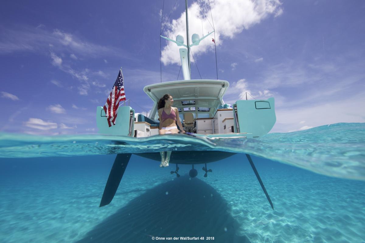 Winsome Sufari Surfari Sailing Yacht Equipped Sureshade Sureshade 48 News 488 Pista baby 48