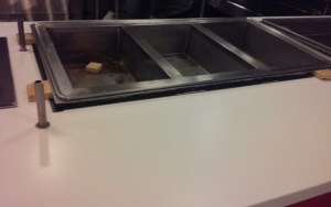 After- Wentworth Cafeteria: Seam Separation was Successfully Repaired