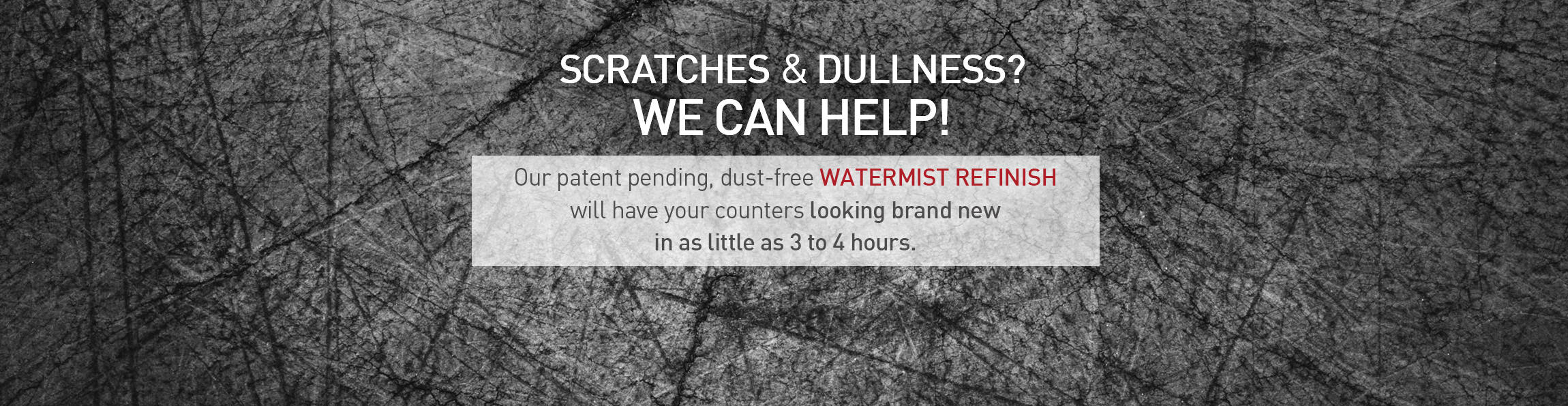 Charming Our Watermist Refinish Will Have Your Counters Looking New In 3 4 Hours!