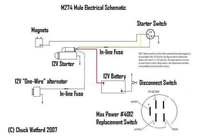hobbs hour meter wiring diagram