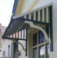 Timber Window Canopies Geelong | Surf Coast Awnings