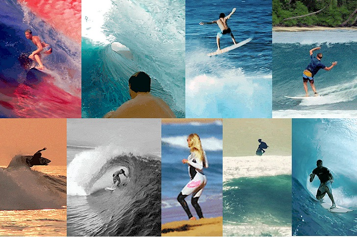 The best animated surfing GIFs ever