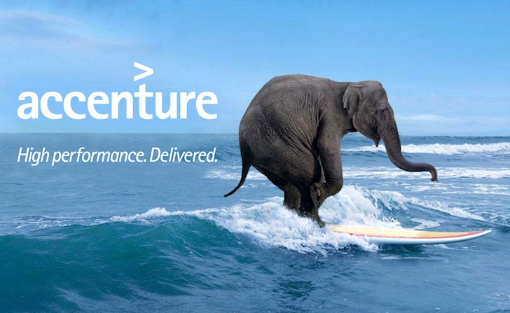 Big Size Wallpapers With Quotes Consulting Firm Accenture Presents A Surfing Elephant Tv Ad