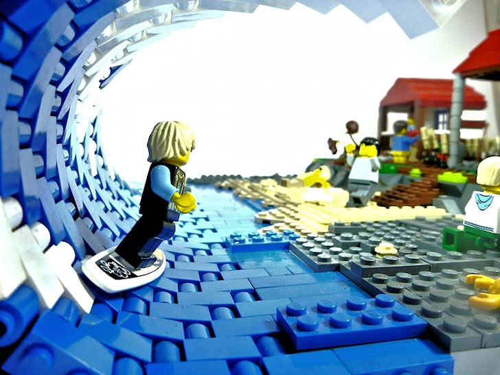 The best surfing Lego creations