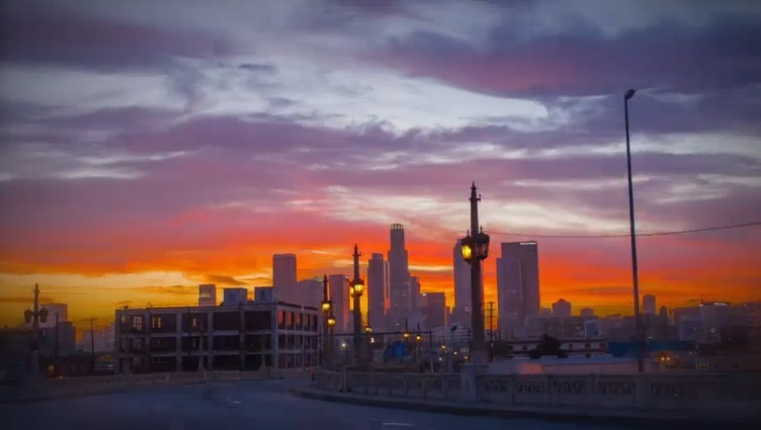 Video: L.A. Sunset Time-Lapse