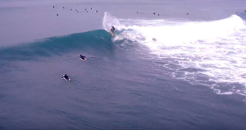 Video: Lower Trestles 4K Arial Drone Footage