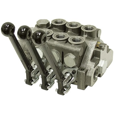 3 Spool 20 Series Prince Stack Valve Closed Center | Stack Valves | Hydraulic Valves ...