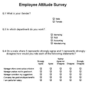 Data Entry in The Survey System - Interview Stations, Question