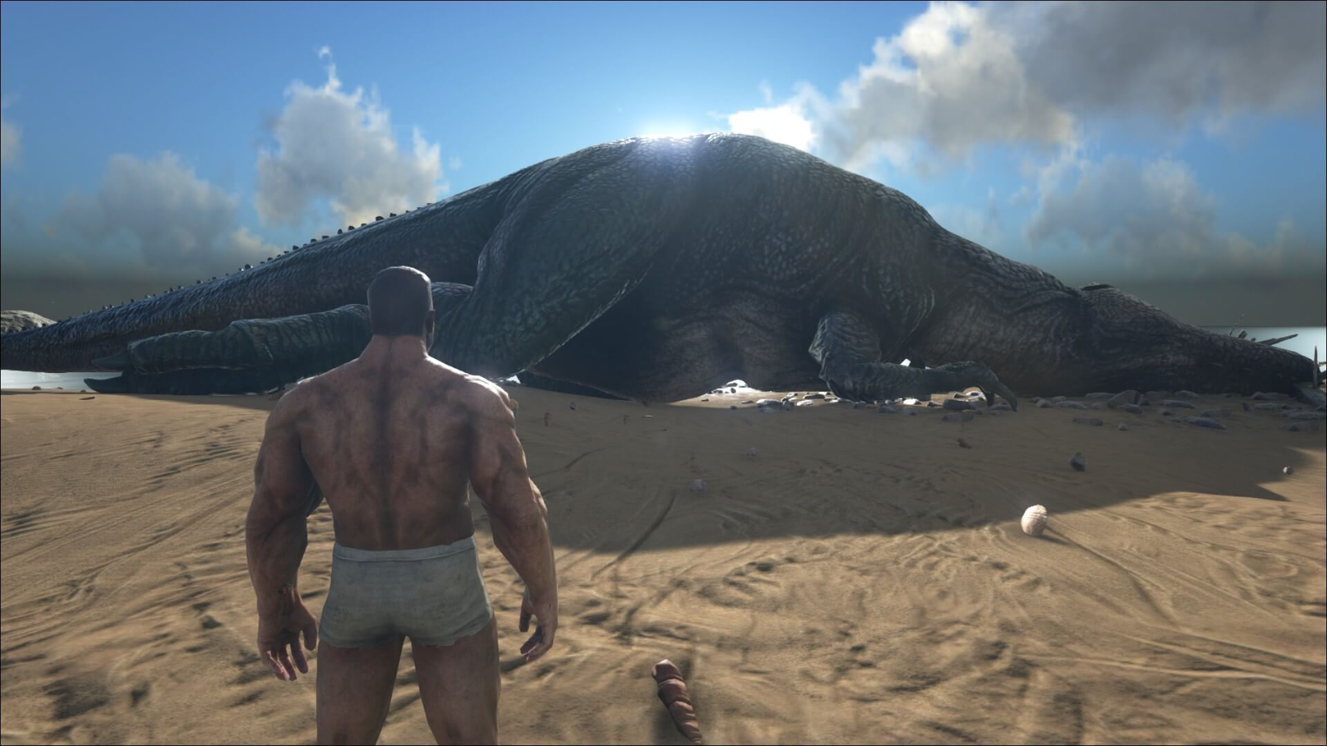 Patch v222 whats new survive ark sleeping peacefully sideview of knocked out giganoto malvernweather