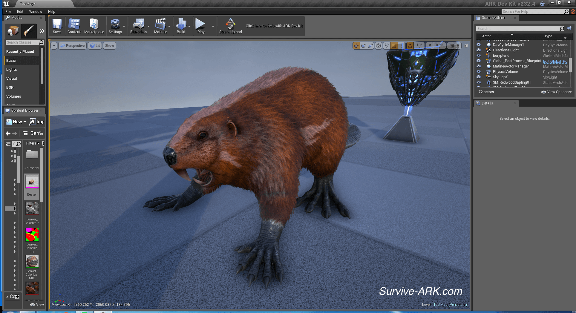 Devkit preview eurypterid red wood forests and giant beaver fur beaver fur pass malvernweather Images