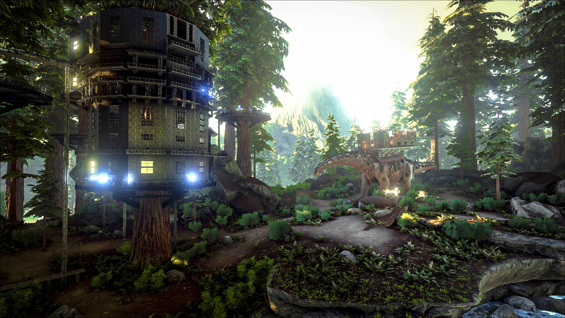 Redwoods are awesome but tree platforms suck ark the screenshots example example malvernweather Gallery