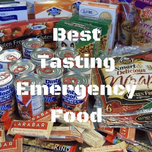 Best Tasting Emergency Food