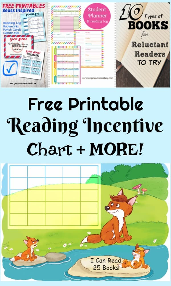Free Printable Summer Reading Incentive Sticker Chart Worksheet - sticker chart