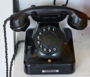 The kind of phone I used for my first dealing with a Sales Caller