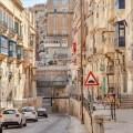 Valletta Malta Altstadt Weltkulturerbe Meer Stadtmauer Hafen Fort
