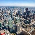 Toronto Ontario Kanada Canada Skyline CN Tower