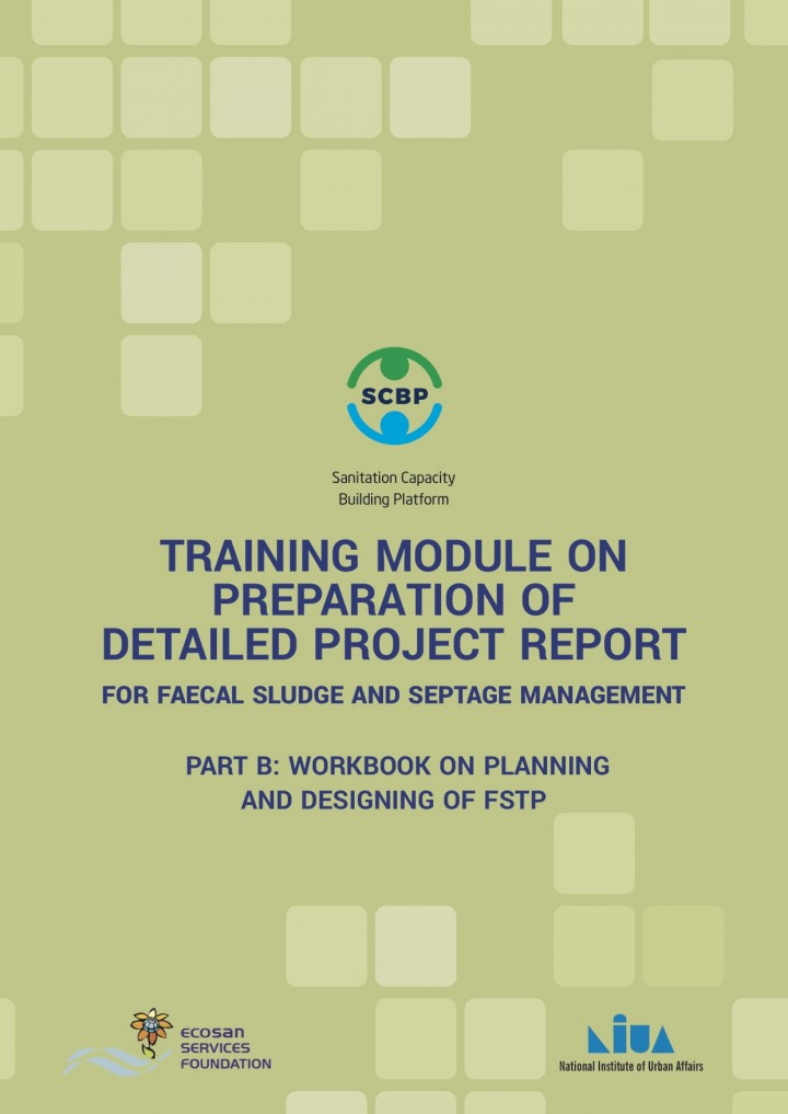 Training Module on Preparation of Detailed Project Report for Faecal