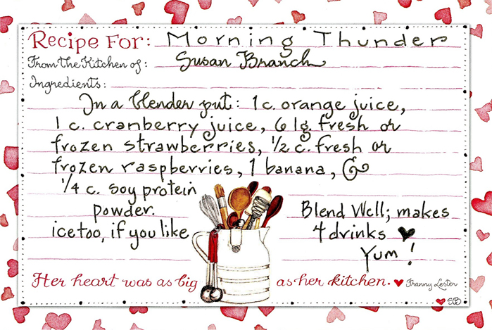 Pin by Debi Darling on Susan Branch Pinterest Recipes - recipe card