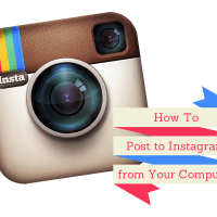 How to Post to Instagram from Your Computer