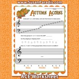 Autumn Acorns ACE
