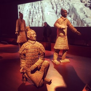 Terracotta warrriors and images from China.