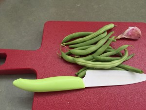 meager green beans