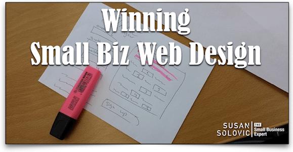 best small business website design