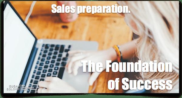 sales preparation
