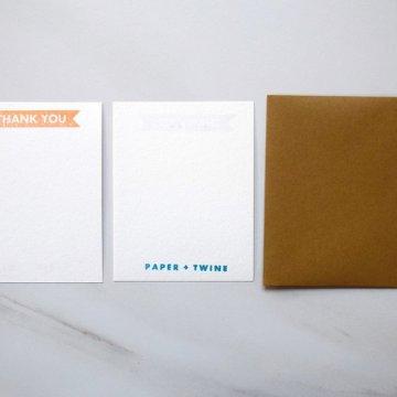 paper + twine