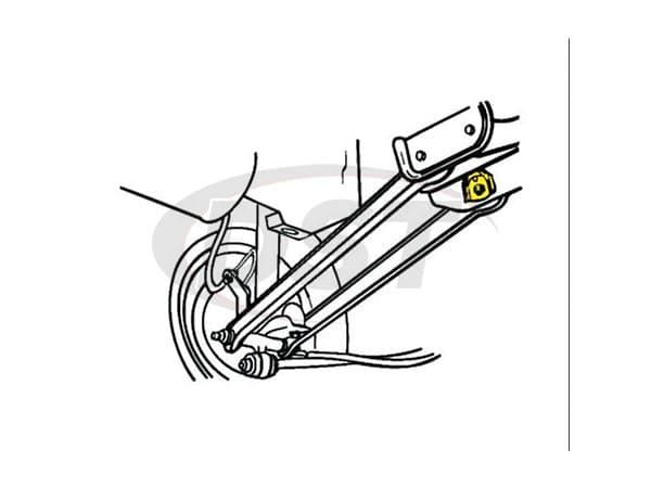 moog front suspension diagrams