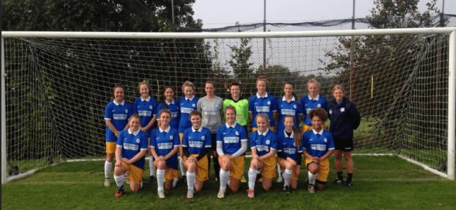 Under 16 Girls Team Photo vs Kent