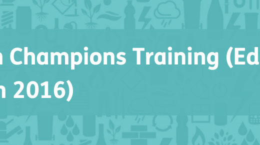 Opportunity: Green Champions Training