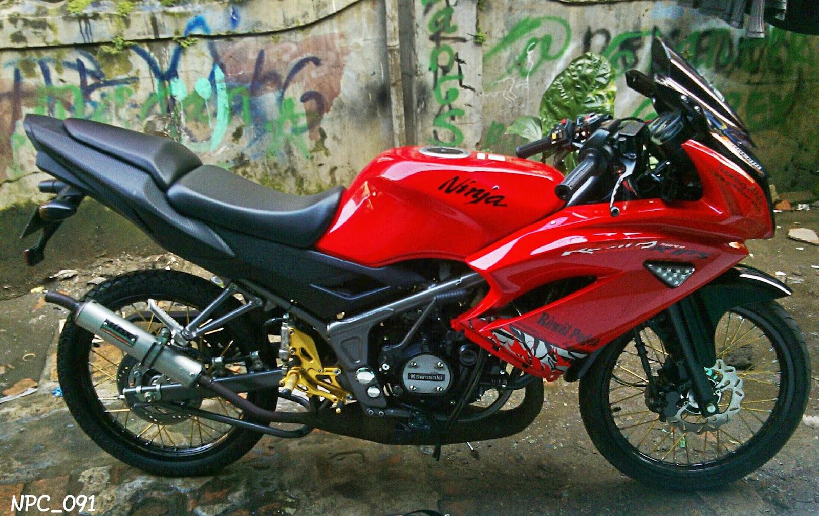 modifikasi motor ninja rr jari jari image gallery - hcpr