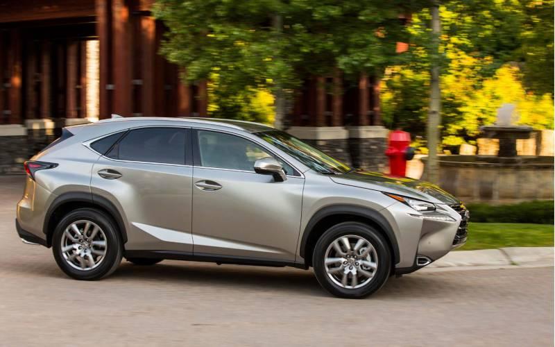 45%20angle%20back%20Lexus%20NX%20200t%20F%20Sport%202017_0 2015 Lexus Nx200t F Sport Start Up Road Test