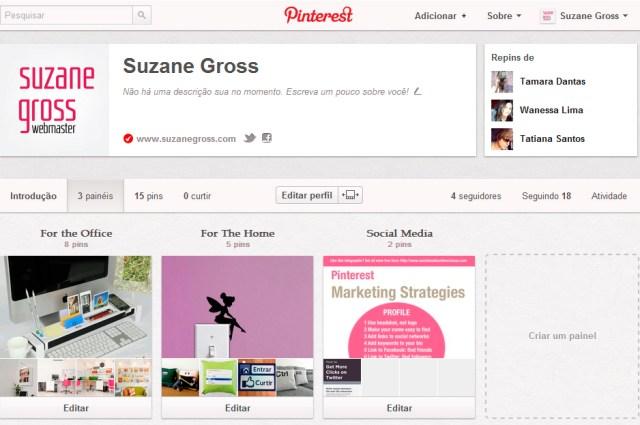 Pinterest de Suzane Gross