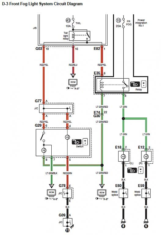 2006 silverado fog lamp wiring diagram